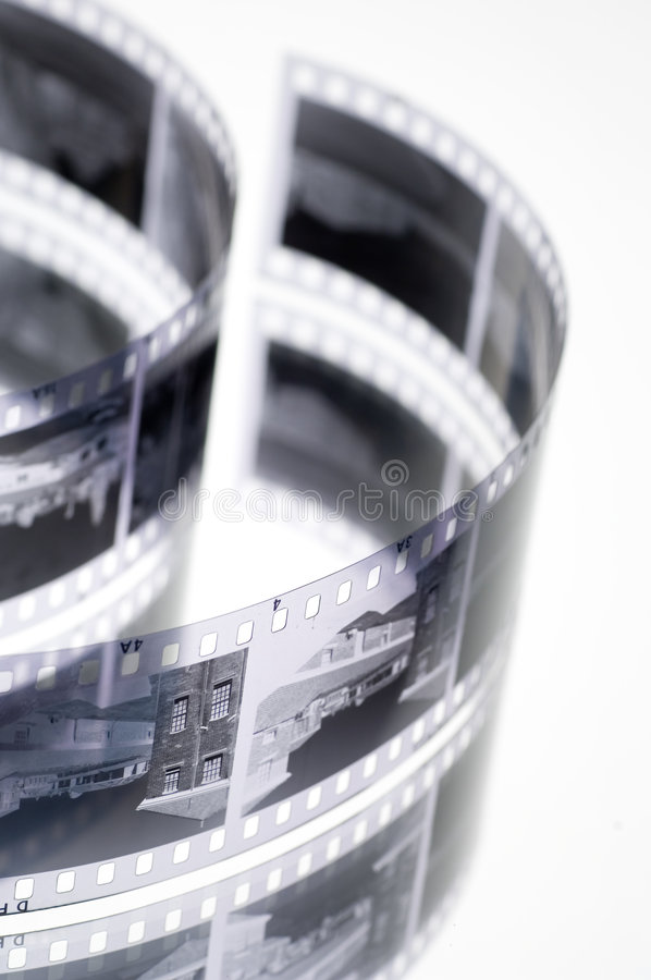 Pellicola in bianco e nero fotografie stock
