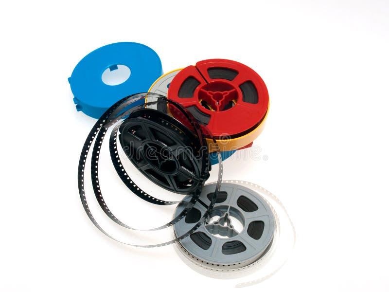 Pellicola delle bobine di S 8mm immagini stock libere da diritti