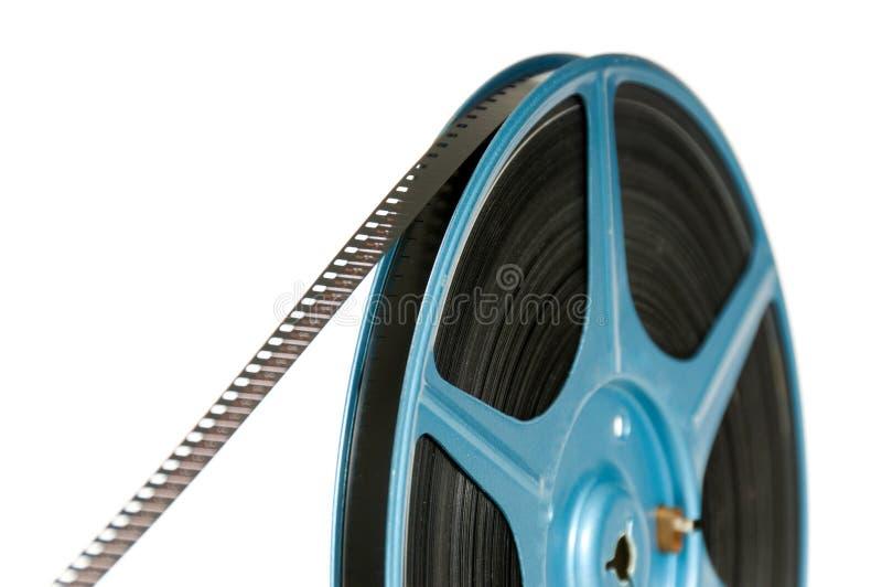 pellicola di 8mm sulla bobina fotografie stock libere da diritti