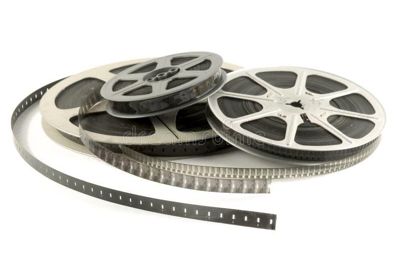 Pellicola di rullo del cinematografo fotografia stock