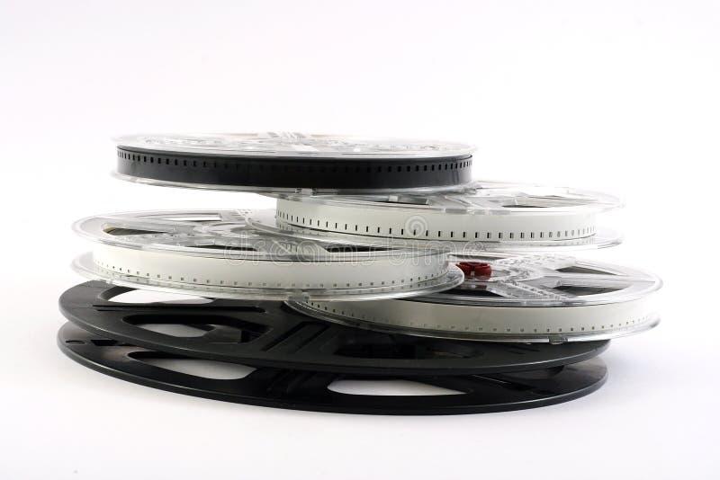 Pellicola sulla pellicola fotografia stock libera da diritti