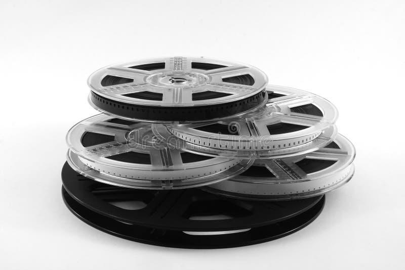 Pellicola sulle pellicole fotografia stock libera da diritti