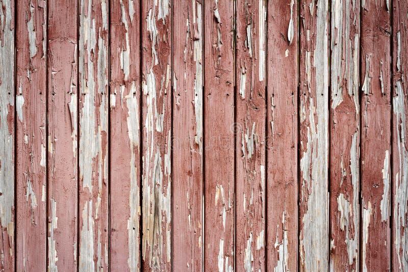Pellings-Farbe auf Holz lizenzfreie stockfotos
