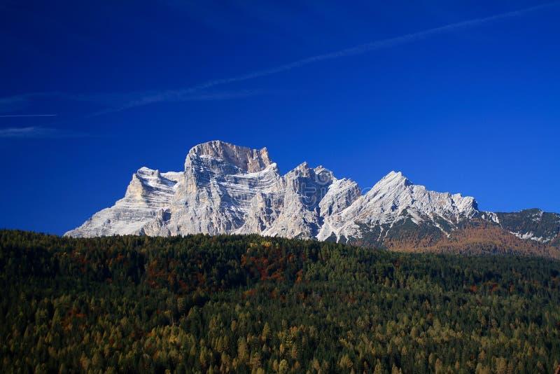 Pelmo Mount Dolomite royalty free stock photography