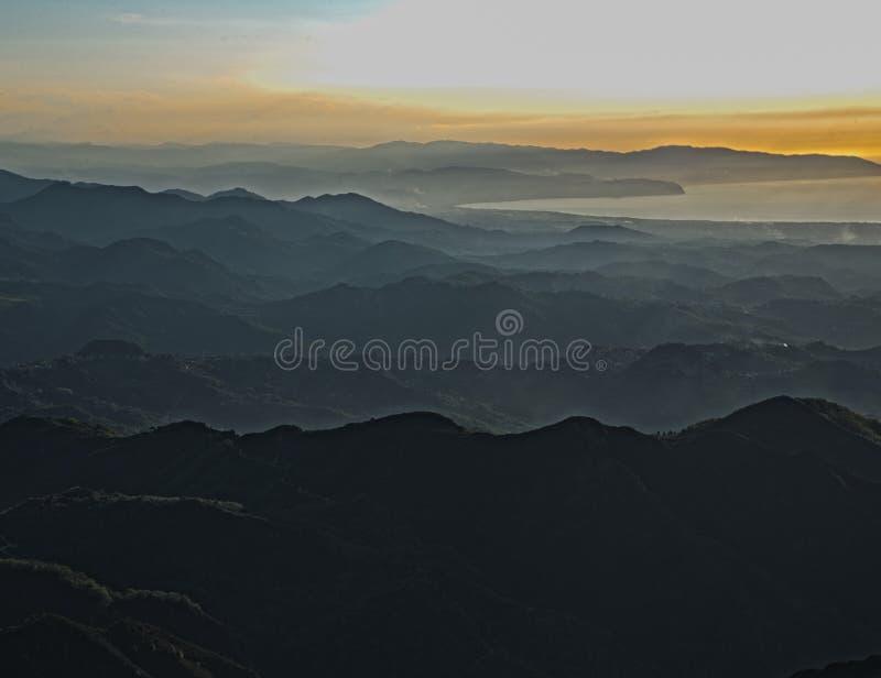 Peloritani occidental, Sicile images stock