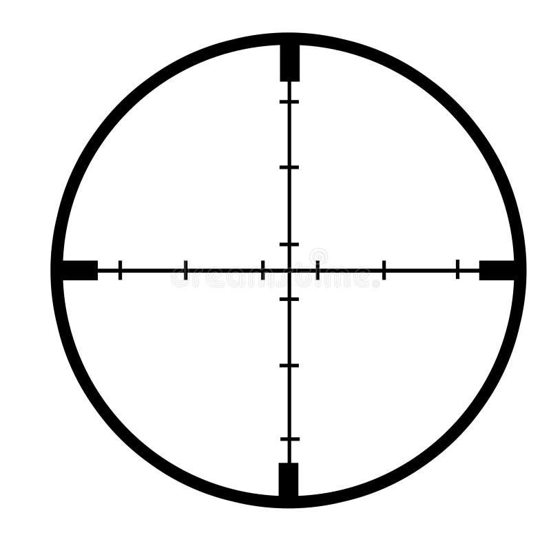 Pelos cruzados ilustración del vector