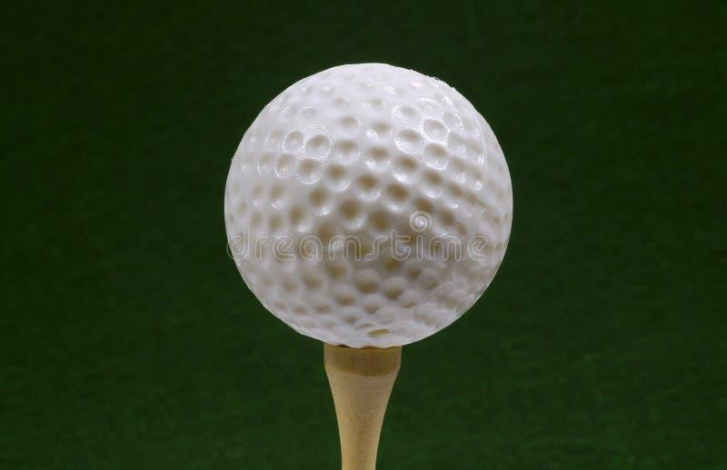 Pelota de golf fotos de archivo libres de regalías
