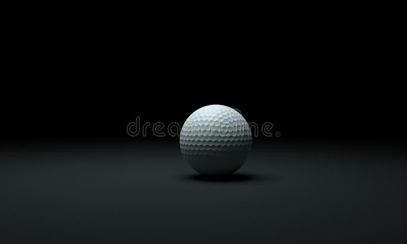 Pelota de golf ilustración del vector