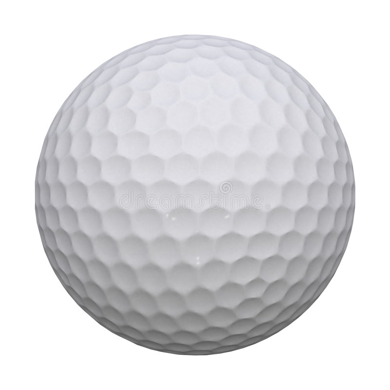 Pelota de golf libre illustration