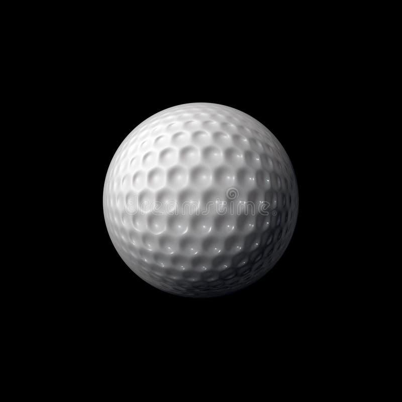 Pelota de golf libre illustration