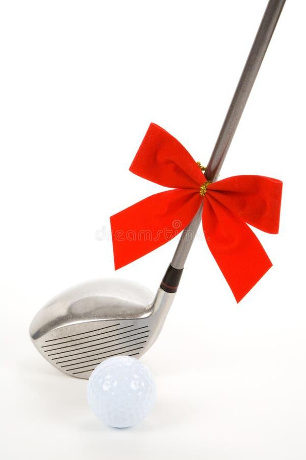 Pelota de golf y programa piloto imágenes de archivo libres de regalías