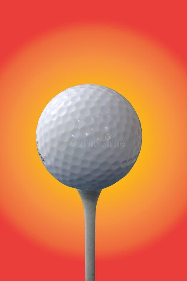 Pelota de golf y te libre illustration