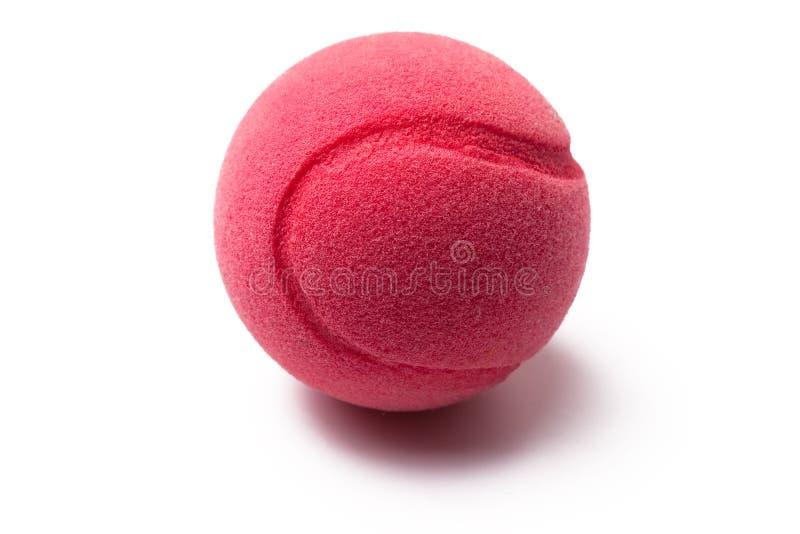 Pelota de tenis rosada fotos de archivo libres de regalías