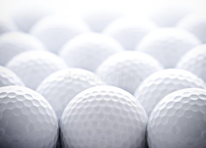 Pelotas de golf foto de archivo