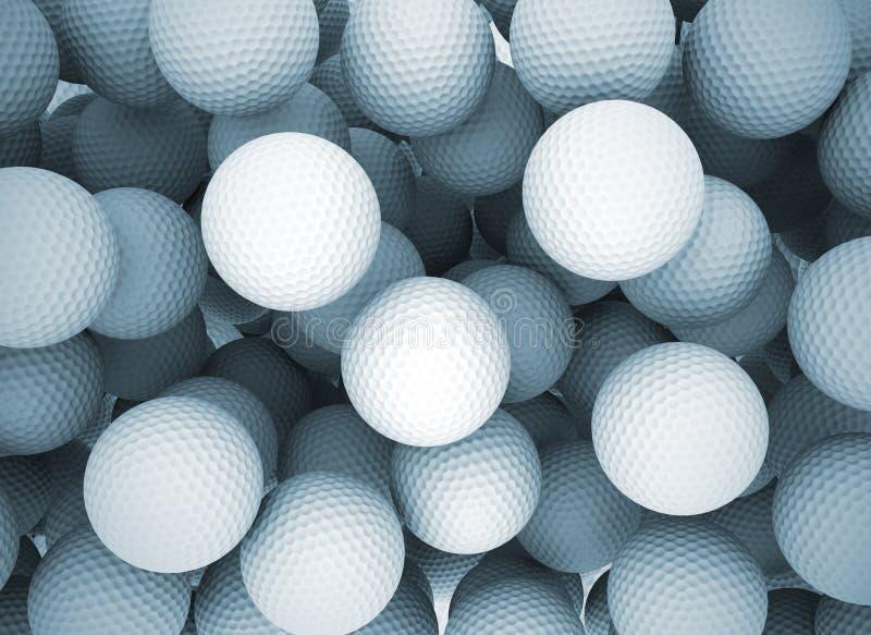 Pelotas de golf libre illustration