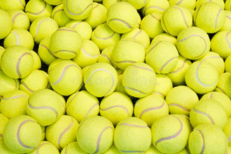 Pelotas de tenis imagenes de archivo