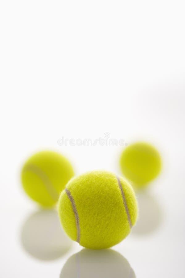 Pelotas de tenis. foto de archivo libre de regalías