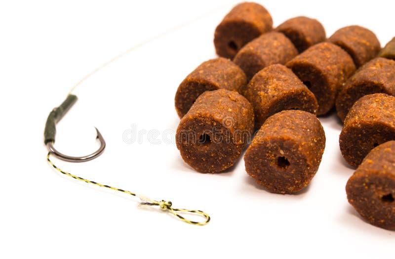 Pelotilla - cebo y accesorios de pesca de la carpa fotografía de archivo