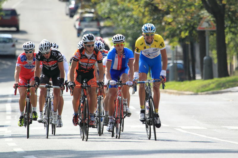 Download Peloton In Cycling Race Bohemia Tour 2012 Editorial Photography - Image: 26635622