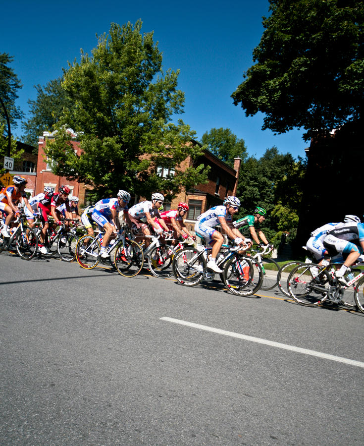 Download The Peloton racing editorial photography. Image of cyclist - 22981517