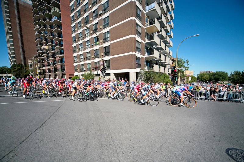 Download The Peloton racing editorial photo. Image of bunch, france - 22981591