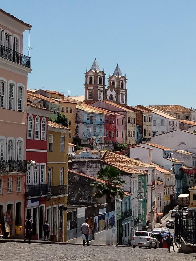 Pelourinho, Salvador, Brazil royalty free stock photos