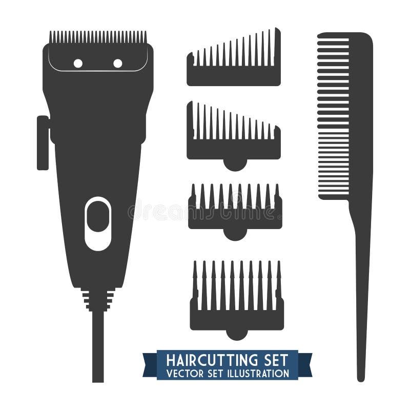 peluquería stock de ilustración