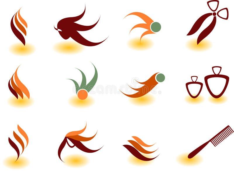 peluquero stock de ilustración