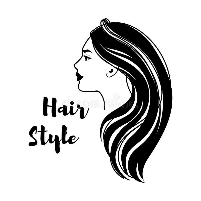 Peluquero Hair Salon stock de ilustración