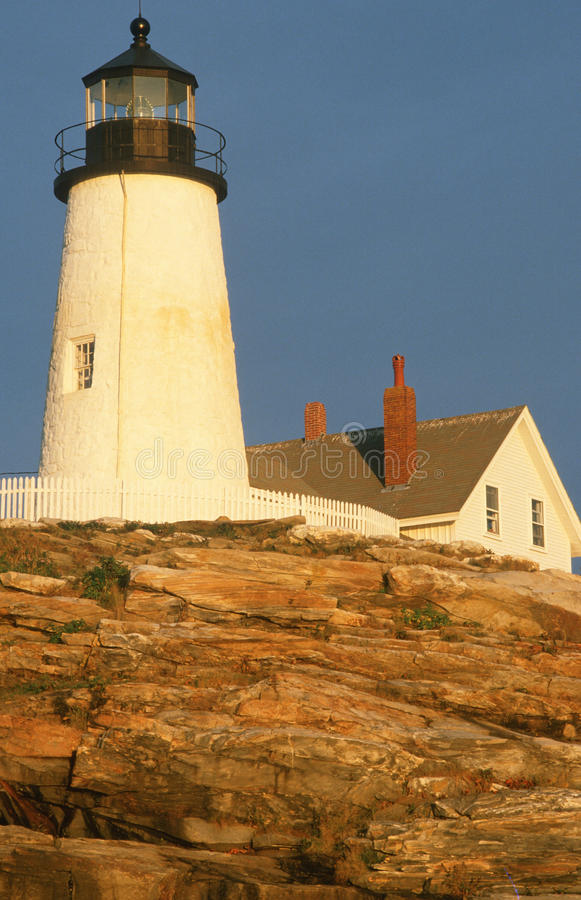 Pemaquid Lighthouse, Maine royalty free stock photo