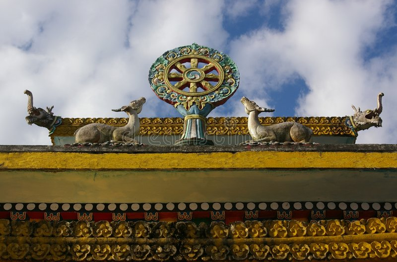 pemayangtse klasztoru fotografia stock