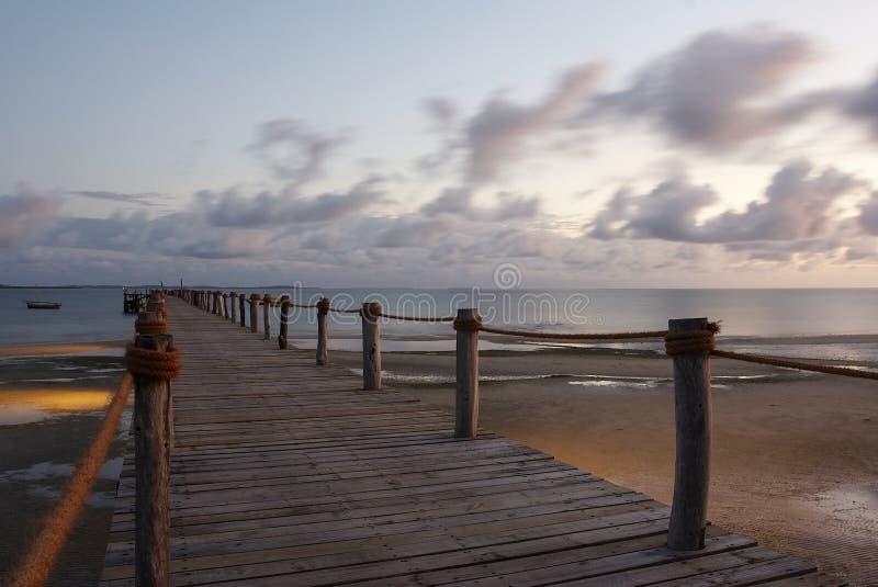 Download Pemba Island Pier stock image. Image of port, pemba, wood - 1484417