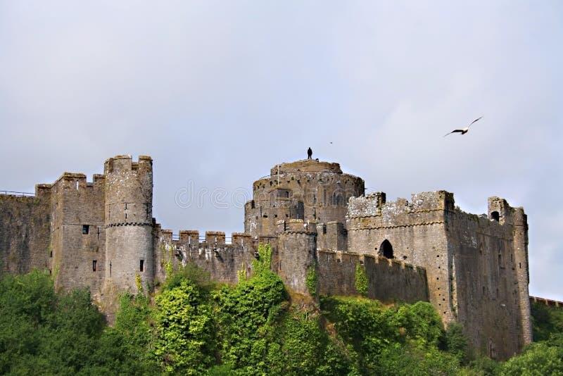 pembroke замока стоковое изображение rf