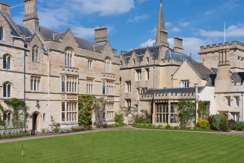 Pembroke College, Oxford royalty free stock image