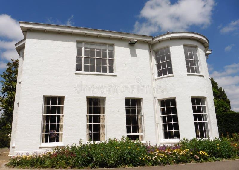 Pembroke Lodge i Richmond Park Greater London Uk royaltyfria foton