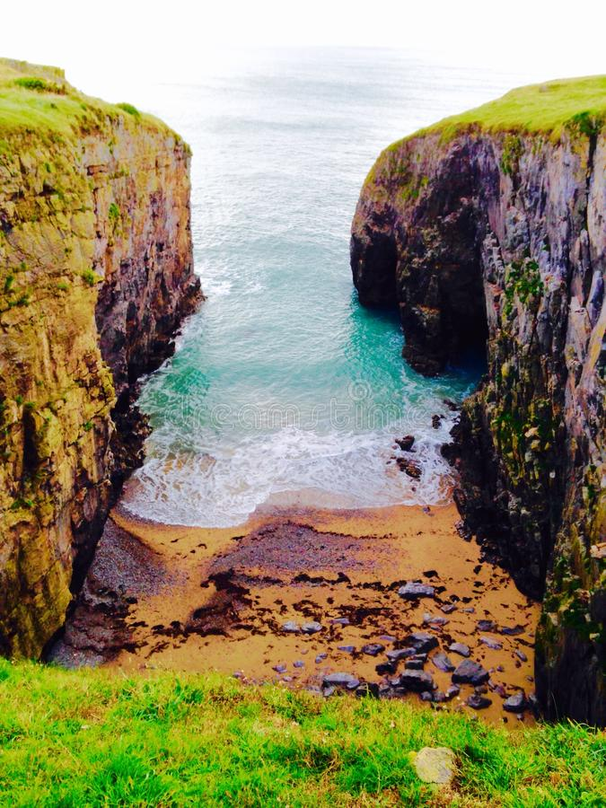 Pembroke stockpole στοκ εικόνες