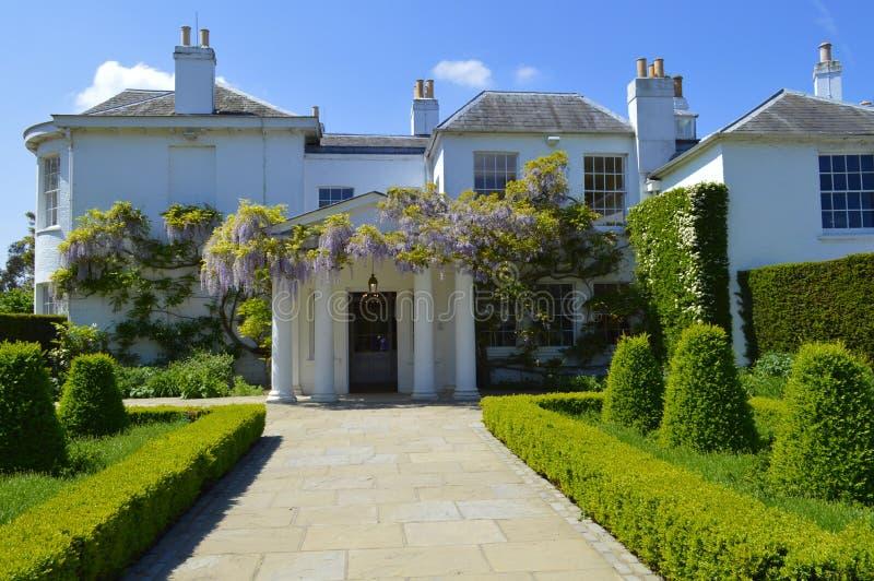 Pembroke stróżówka w Richmond parku Londyn UK zdjęcia royalty free