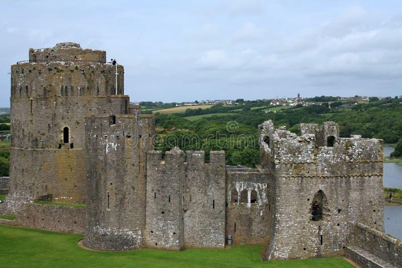 Pembroke Tower stock image