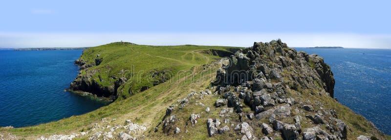 Pembrokeshire coast royalty free stock photography