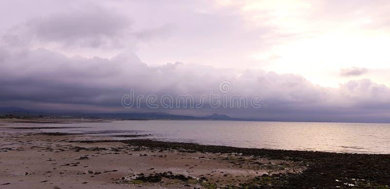 Pembrokeshirekust Noord-Wales stock foto's
