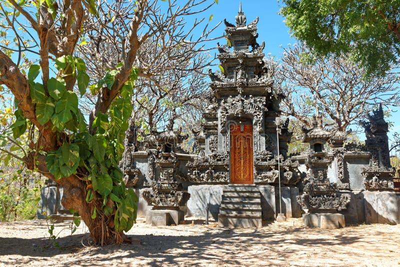 Pemuteran Hinduist寺庙在巴厘岛 免版税库存照片