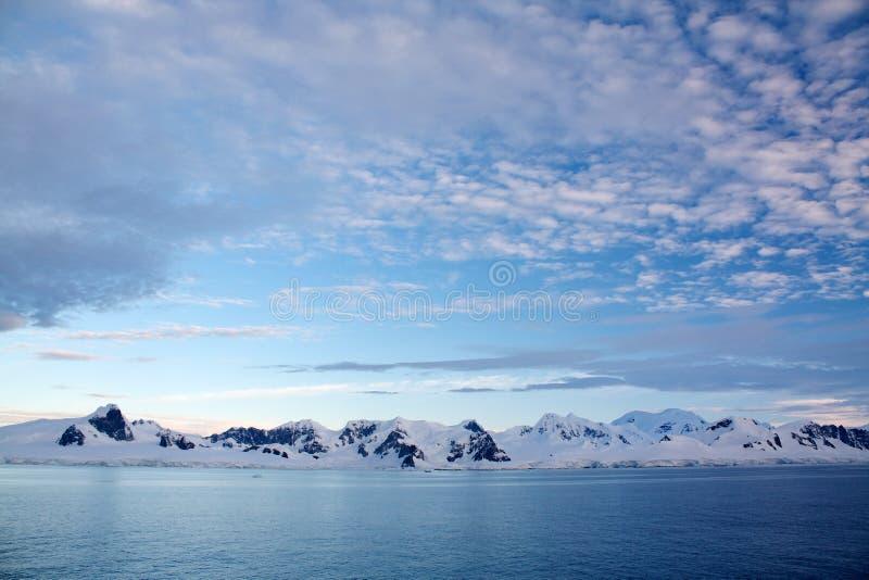Península antártica fotos de archivo