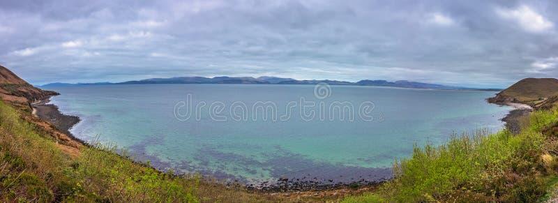 Península da baía do Dingle foto de stock