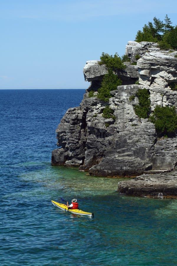 Península de Bruce imagens de stock