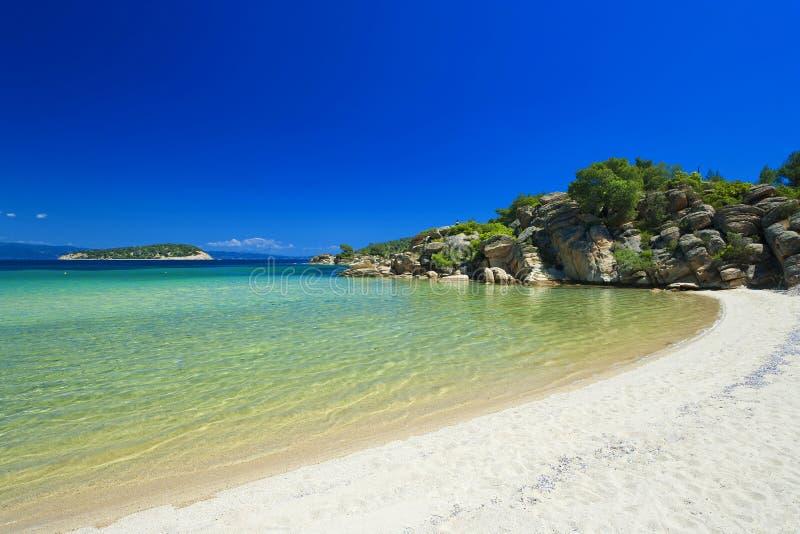Península de Greece - de Sithonia fotografia de stock royalty free