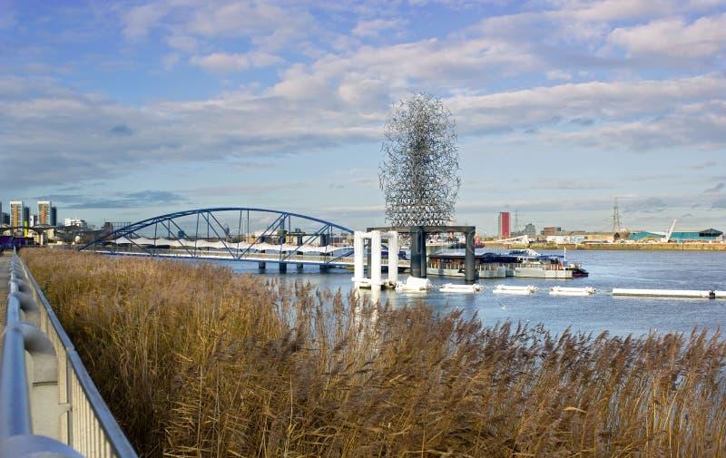 Download Península De Greenwich Em Londres Do Sudeste, Inglaterra Fotografia Editorial - Imagem de península, docas: 29830712