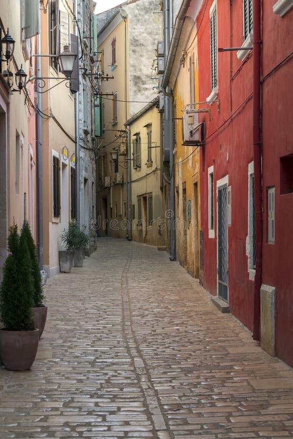 Península de Rovenj - de Istrian - Croácia fotos de stock royalty free