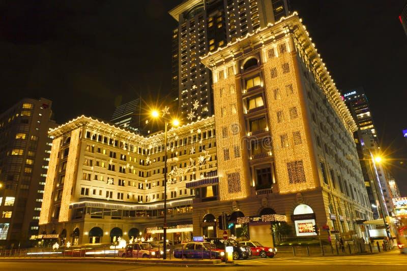 A península Hong Kong foto de stock