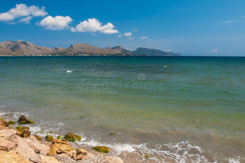 Península Mallorca de Formentor imagen de archivo libre de regalías