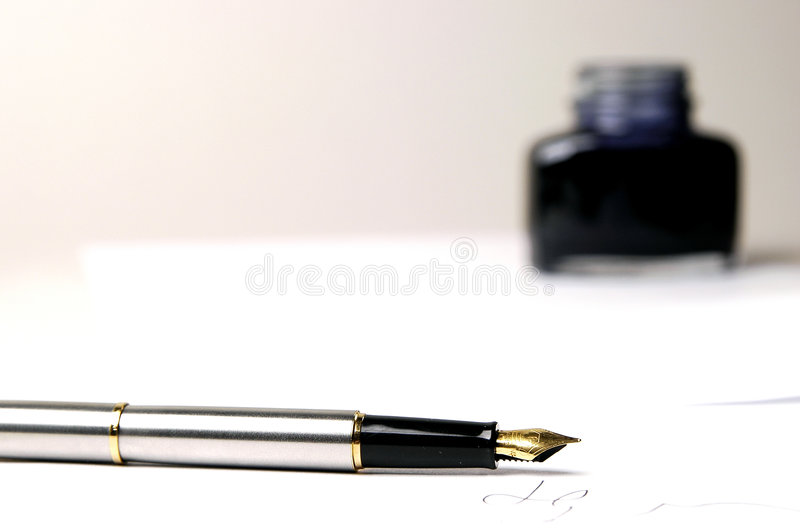 Pen stock image